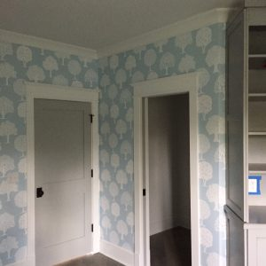 Residential Wallpaper Installation